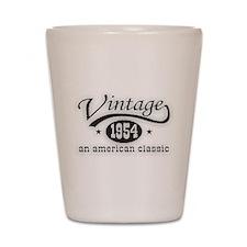 Vintage 1954 Birthday Shot Glass