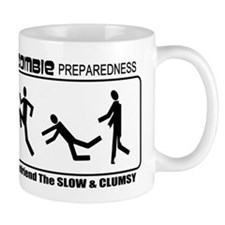 Zombie Prepared SLOW Small Mugs