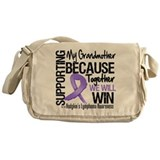 Support Grandmother Hodgkins Messenger Bag