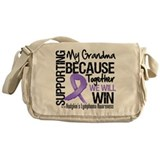 Support Grandma Hodgkins Messenger Bag