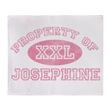 Property of Josephine Throw Blanket
