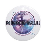 DWTS Dancing With The Stars Ornament (Round)