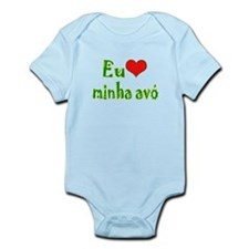 I Love Grandma (Port/Brasil) Infant Bodysuit