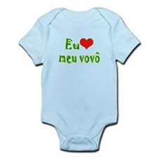 I Love Grandpa (Port/Brasil) Infant Bodysuit