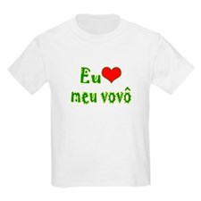 I Love Grandpa (Port/Brasil) T-Shirt