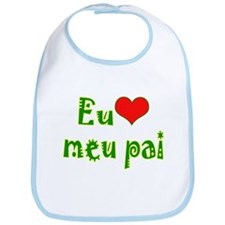 I Love Dad (Port/Brasil) Bib