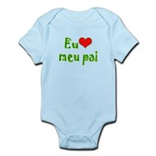 I Love Dad (Port/Brasil) Infant Bodysuit