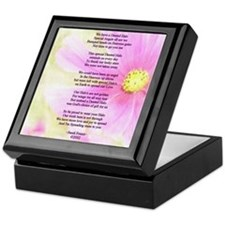Brain Surgery Support Poem Keepsake Box