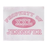 Property of Jennifer Throw Blanket