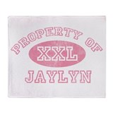 Property of Jaylyn Throw Blanket