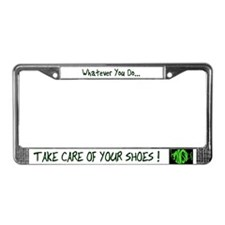 Cavern License Plate Frame