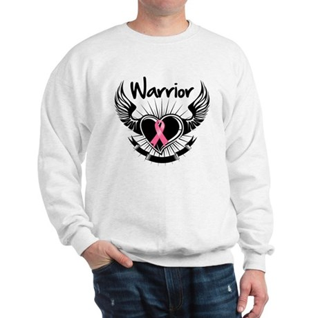 Breast Cancer Warrior Sweatshirt