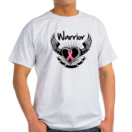 Breast Cancer Warrior Light T-Shirt
