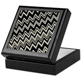 Zig Zag Designer Pattern Keepsake Box