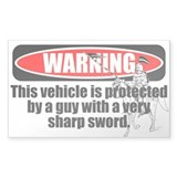 Knight's Protection Decal