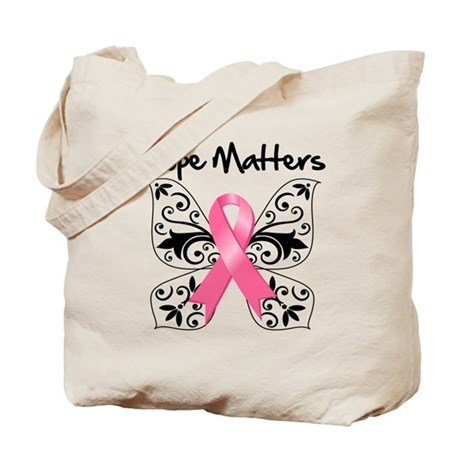 Hope Matters Breast Cancer Tote Bag