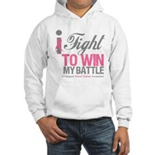 I Fight Win Breast Cancer Hoodie
