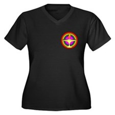 UU Welcoming Congregation Women's Plus Size V-Neck