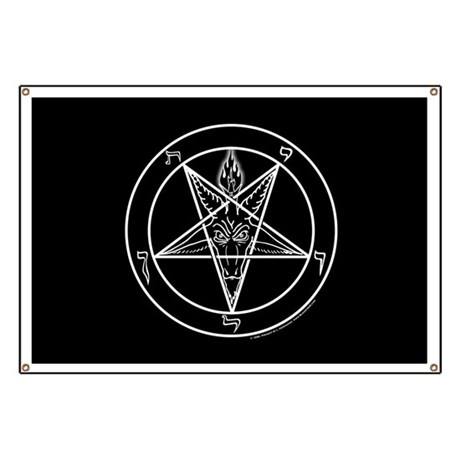 Bloodfire Baphomet Sigil Banner by bloodfire fb6cd7d69d2cc