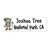 Hike Joshua Tree (Boy) Bumper Sticker