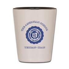 TAS Blue Shot Glass