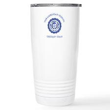 TAS Blue Travel Mug