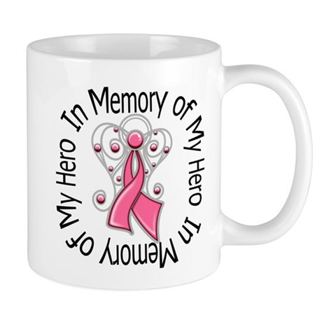 In Memory Breast Cancer Mug