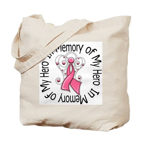 In Memory Breast Cancer Tote Bag