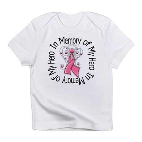 In Memory Breast Cancer Infant T-Shirt