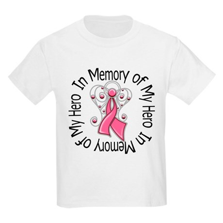 In Memory Breast Cancer Kids Light T-Shirt