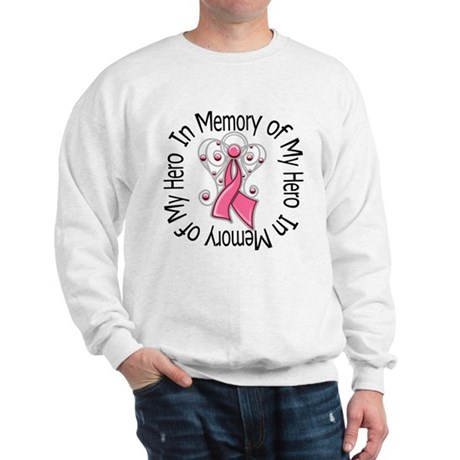 In Memory Breast Cancer Sweatshirt