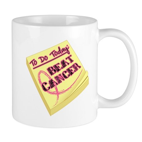 To Do Beat Breast Cancer Mug