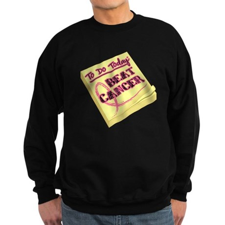To Do Beat Breast Cancer Sweatshirt (dark)