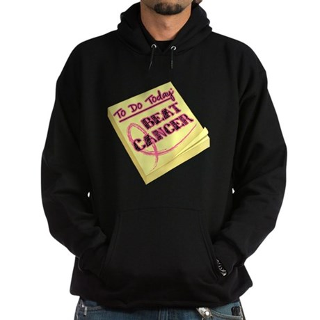 To Do Beat Breast Cancer Hoodie (dark)