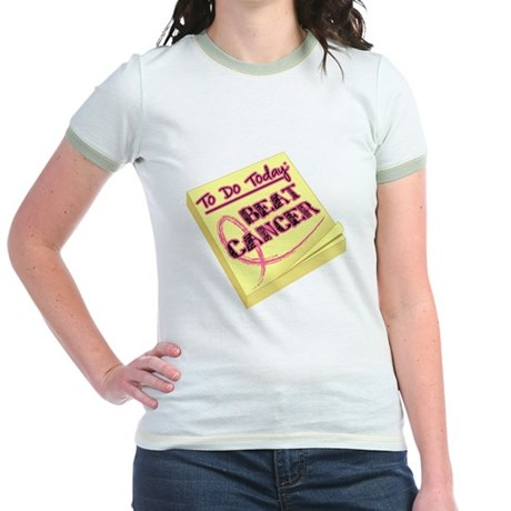 To Do Beat Breast Cancer Jr. Ringer T-Shirt
