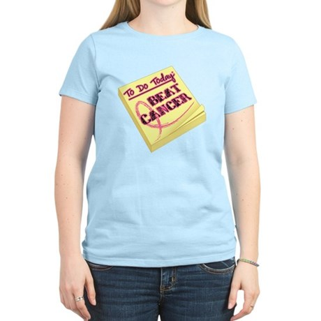 To Do Beat Breast Cancer Women's Light T-Shirt