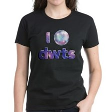 DWTS Dancing With The Stars Women's Dark T-Shirt