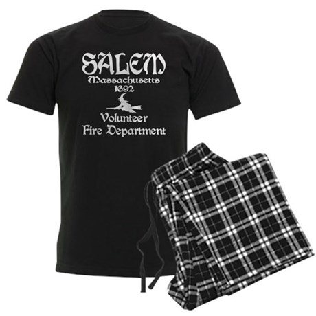 Salem Fire Department Men's Dark Pajamas