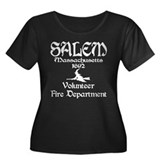 Salem Fire Department Women's Plus Size Scoop Neck