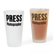 Press Photographer Drinking Glass