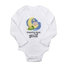 Dreaming About Golf Long Sleeve Infant Bodysuit