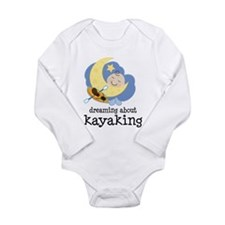 Dreaming About Kayaking Long Sleeve Infant Bodysui