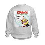 Courage the Cowardly Dog Kids Sweatshirt