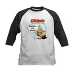 Courage the Cowardly Dog Kids Baseball Jersey