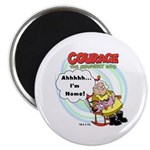 Courage the Cowardly Dog Magnet