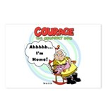 Courage the Cowardly Dog Postcards (Package of 8)