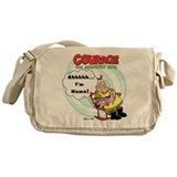 Courage the Cowardly Dog Messenger Bag