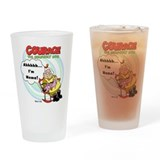 Courage the Cowardly Dog Drinking Glass