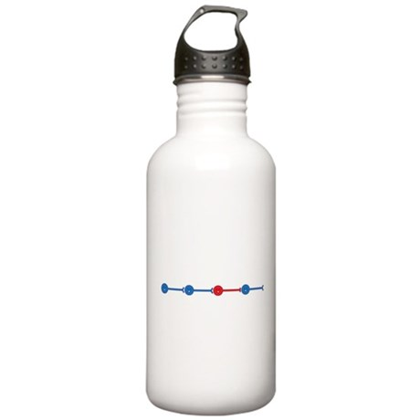 Red Neuron, Blue Neuron... Water Bottle 1.0L