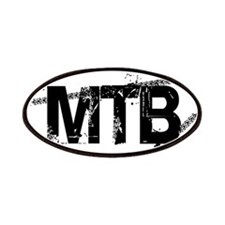 MTB Oval Patches